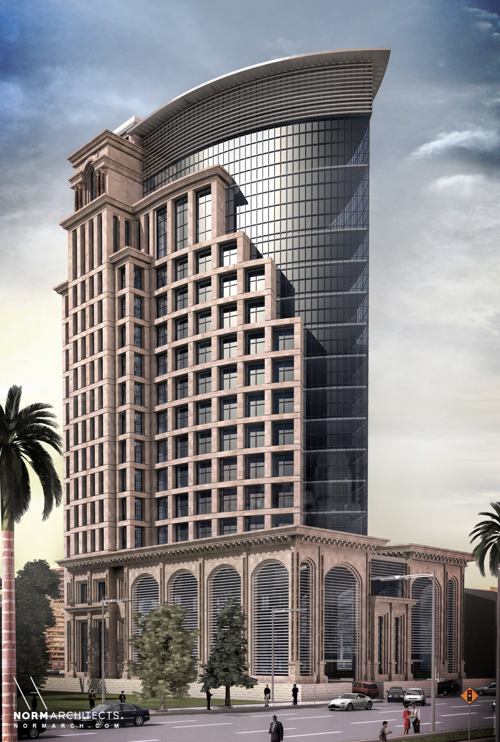 Al-Zamil Tower - Norm Architects